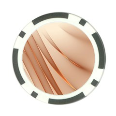 Background Light Glow Abstract Art Poker Chip Card Guard