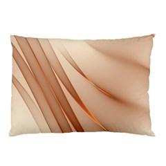 Background Light Glow Abstract Art Pillow Case