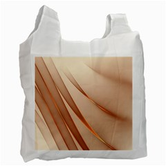 Background Light Glow Abstract Art Recycle Bag (two Side)