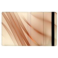 Background Light Glow Abstract Art Apple Ipad 3/4 Flip Case