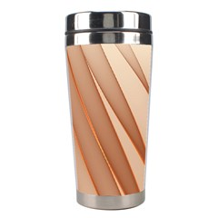 Background Light Glow Abstract Art Stainless Steel Travel Tumblers