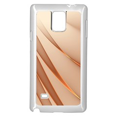 Background Light Glow Abstract Art Samsung Galaxy Note 4 Case (white)