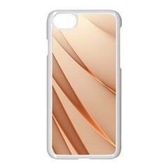 Background Light Glow Abstract Art Apple Iphone 7 Seamless Case (white)