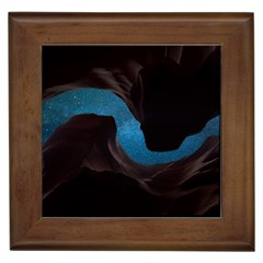 Abstract Adult Art Blur Color Framed Tiles