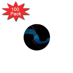 Abstract Adult Art Blur Color 1  Mini Magnets (100 Pack)