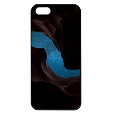 Abstract Adult Art Blur Color Apple Iphone 5 Seamless Case (black)