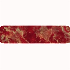 Marble Red Yellow Background Large Bar Mats