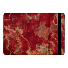 Marble Red Yellow Background Samsung Galaxy Tab Pro 10 1  Flip Case