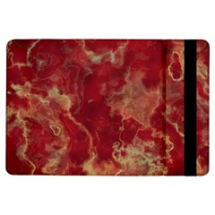 Marble Red Yellow Background Ipad Air Flip