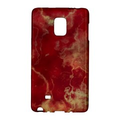 Marble Red Yellow Background Galaxy Note Edge by Nexatart