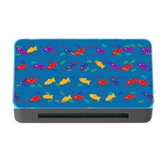 Fish Blue Background Pattern Texture Memory Card Reader With Cf by Nexatart
