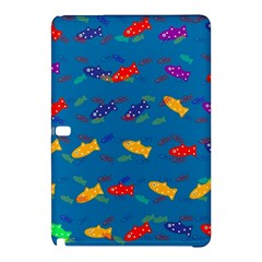 Fish Blue Background Pattern Texture Samsung Galaxy Tab Pro 10 1 Hardshell Case