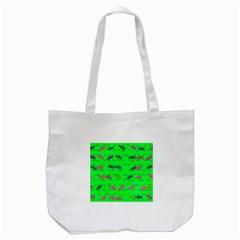 Fish Aquarium Underwater World Tote Bag (white)