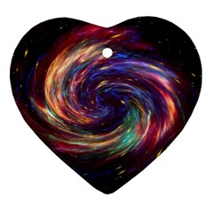 Cassiopeia Supernova Cassiopeia Heart Ornament (two Sides) by Nexatart
