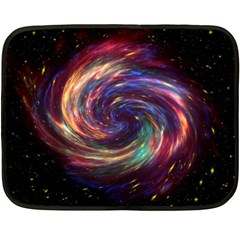 Cassiopeia Supernova Cassiopeia Double Sided Fleece Blanket (mini)