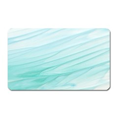 Texture Seawall Ink Wall Painting Magnet (rectangular)