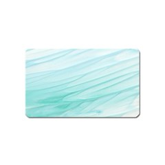 Texture Seawall Ink Wall Painting Magnet (name Card)