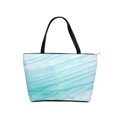 Texture Seawall Ink Wall Painting Shoulder Handbags