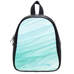 Texture Seawall Ink Wall Painting School Bag (small)