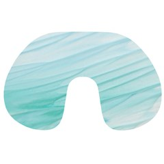 Texture Seawall Ink Wall Painting Travel Neck Pillows
