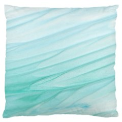 Texture Seawall Ink Wall Painting Large Flano Cushion Case (one Side) by Nexatart