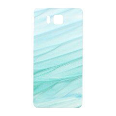 Texture Seawall Ink Wall Painting Samsung Galaxy Alpha Hardshell Back Case