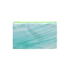 Texture Seawall Ink Wall Painting Cosmetic Bag (xs)