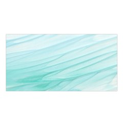 Texture Seawall Ink Wall Painting Satin Shawl