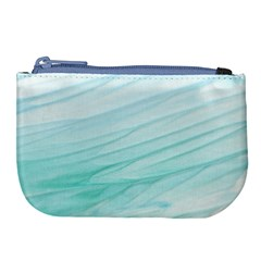 Texture Seawall Ink Wall Painting Large Coin Purse