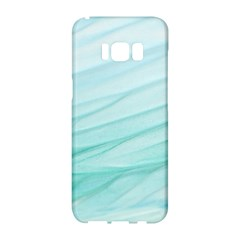 Texture Seawall Ink Wall Painting Samsung Galaxy S8 Hardshell Case