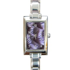 Sea Worm Under Water Abstract Rectangle Italian Charm Watch