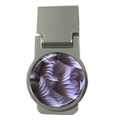Sea Worm Under Water Abstract Money Clips (round)