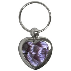 Sea Worm Under Water Abstract Key Chains (heart)