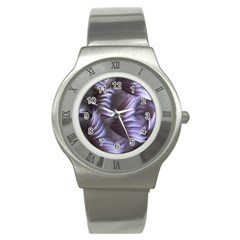 Sea Worm Under Water Abstract Stainless Steel Watch