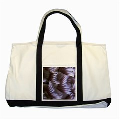 Sea Worm Under Water Abstract Two Tone Tote Bag