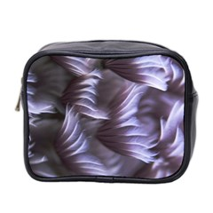 Sea Worm Under Water Abstract Mini Toiletries Bag 2 Side