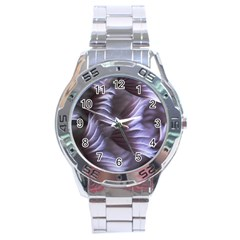 Sea Worm Under Water Abstract Stainless Steel Analogue Watch