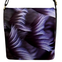 Sea Worm Under Water Abstract Flap Messenger Bag (s)