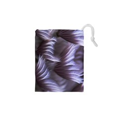 Sea Worm Under Water Abstract Drawstring Pouches (xs)