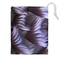 Sea Worm Under Water Abstract Drawstring Pouches (xxl)