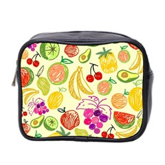 Seamless Pattern Desktop Decoration Mini Toiletries Bag 2 Side