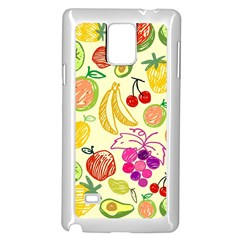 Seamless Pattern Desktop Decoration Samsung Galaxy Note 4 Case (white)