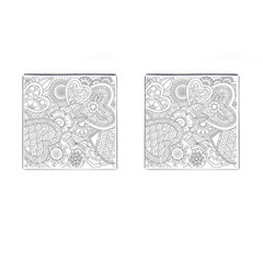 Ornament Vector Retro Cufflinks (square)