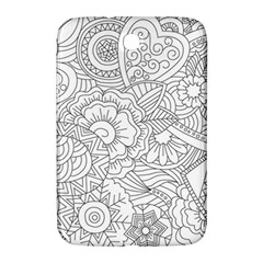 Ornament Vector Retro Samsung Galaxy Note 8 0 N5100 Hardshell Case
