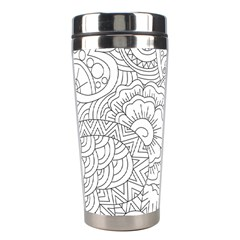 Ornament Vector Retro Stainless Steel Travel Tumblers