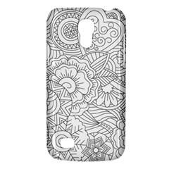 Ornament Vector Retro Galaxy S4 Mini