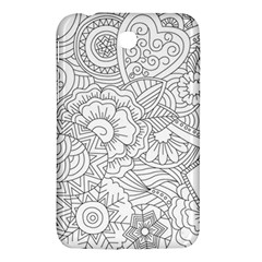 Ornament Vector Retro Samsung Galaxy Tab 3 (7 ) P3200 Hardshell Case