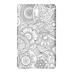 Ornament Vector Retro Samsung Galaxy Tab S (8 4 ) Hardshell Case