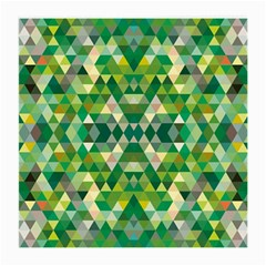 Forest Abstract Geometry Background Medium Glasses Cloth (2 Side)