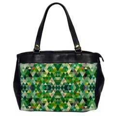 Forest Abstract Geometry Background Office Handbags
